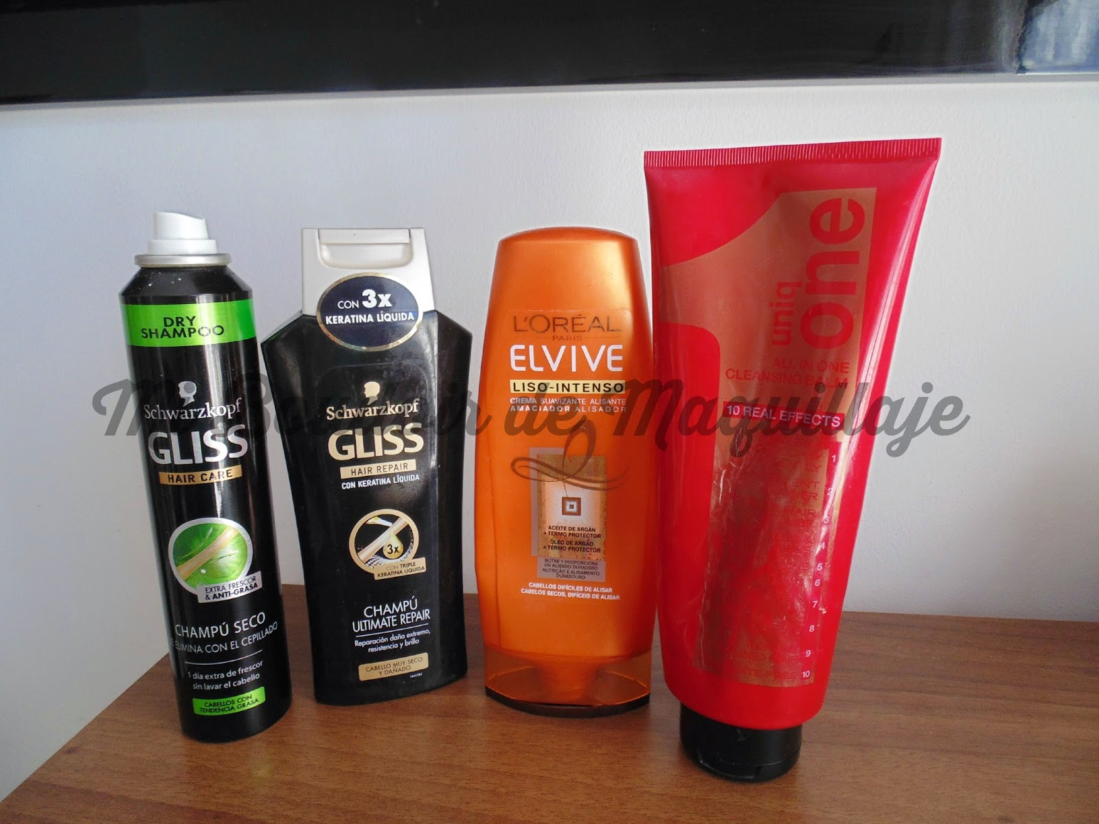 Productos acabados Gliss y UniqOne