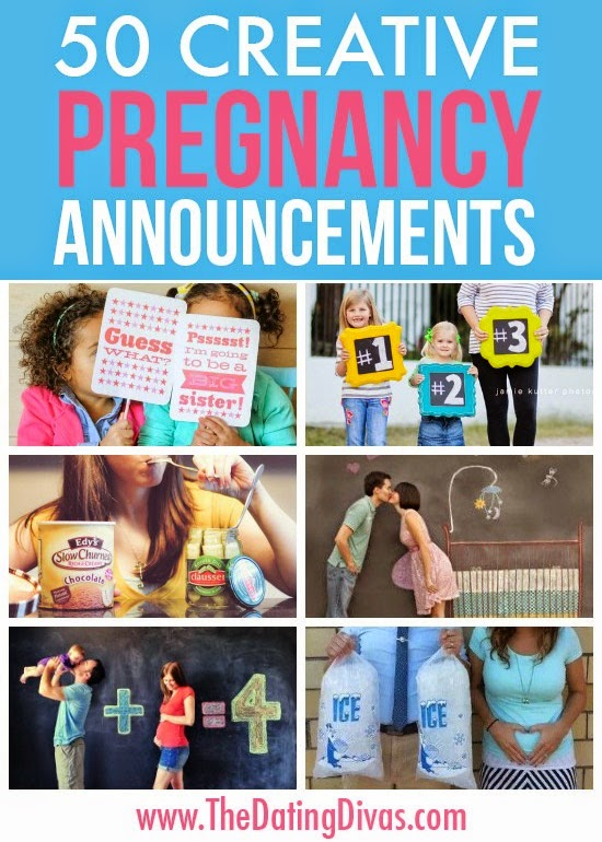 50 Creative Pregnancy Announcements - DIY Craft Projects
