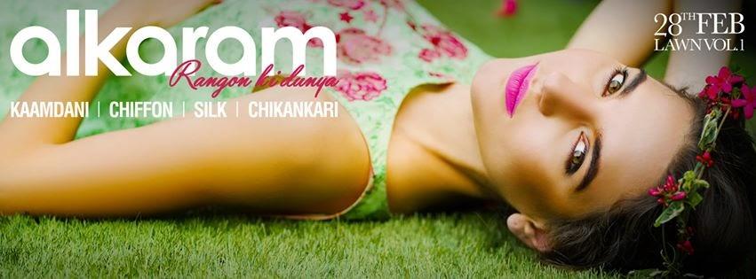 Alkaram Spring Lawn Prints 2015