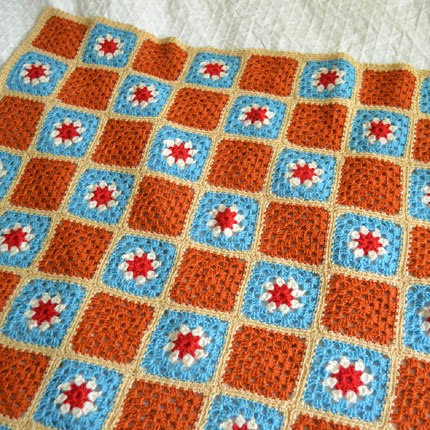 Merino Wool Blanket - Free Pattern