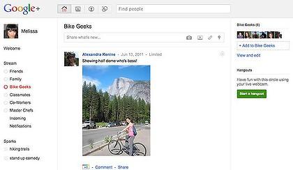 Google Plus social network - Google+
