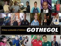 AGOSTO, 9 ANOS DE GOTHE GOL ASSINANDO O FUTMESA
