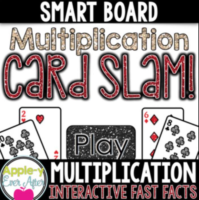 Multiplication Card Slam