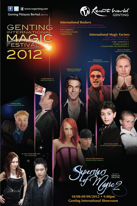 Superstars of Magic 2 Genting Malaysia