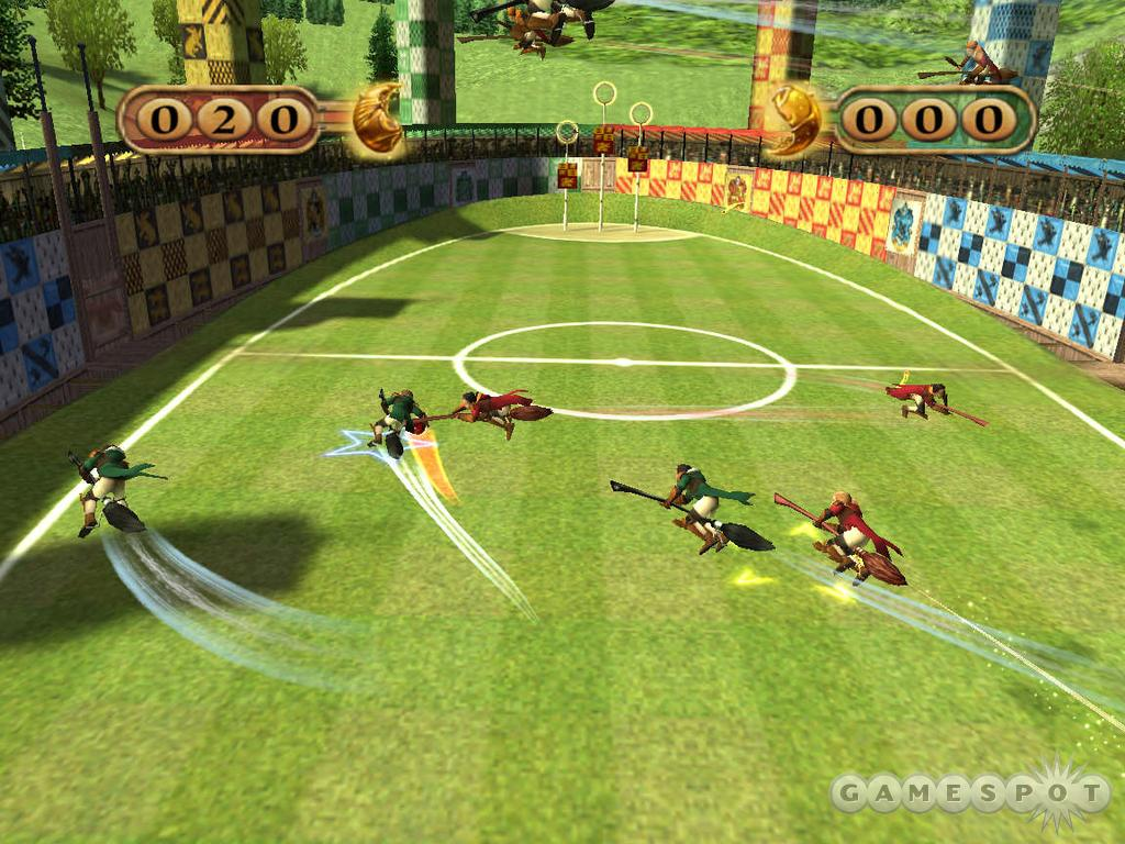 Screenshots of harry potter quidditch world cup
