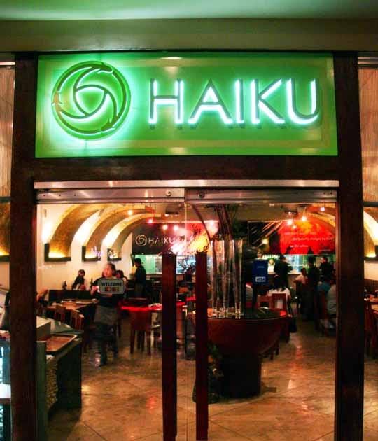 Haiku Japanese Restaurant At Greenbelt Got To Travel