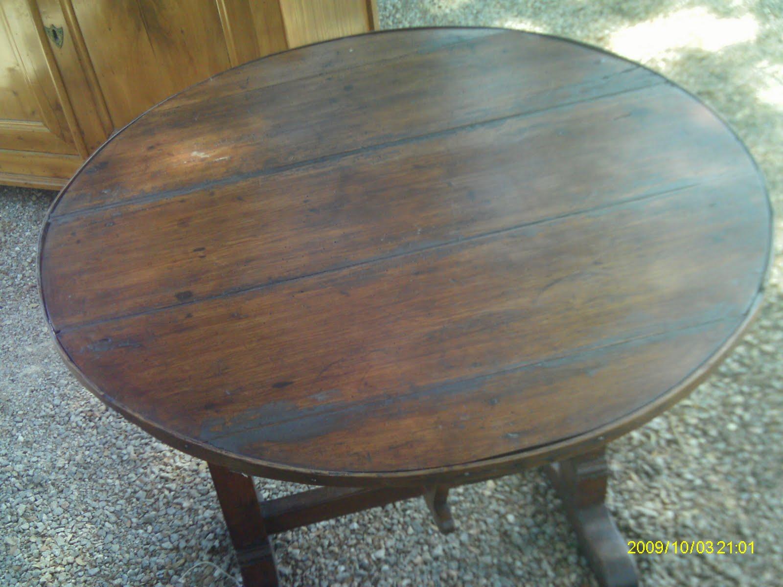 authentique petite table de vigneron ancien oenologie pliante rustique i. Black Bedroom Furniture Sets. Home Design Ideas