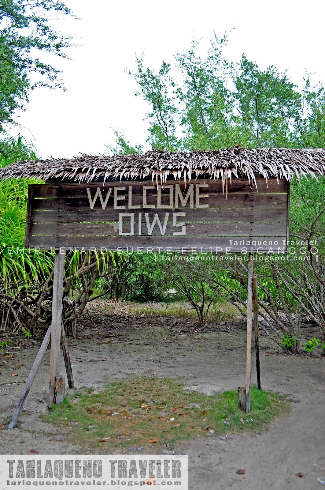 Entrance to Olango Island Wildlife Sanctuary