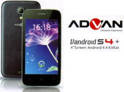 Cara Reset Advan Vandroid S4+ Seperti baru dari pabrik