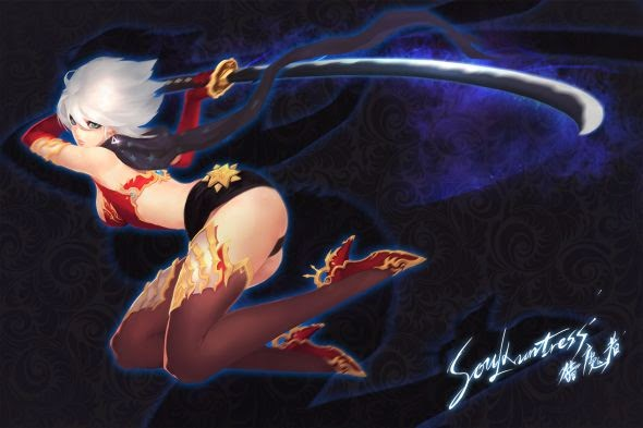 Shengyuan Lee grandialee illustrations fantasy anime Soul huntress