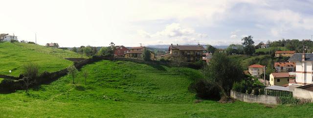 Paisaje rural de Comillas