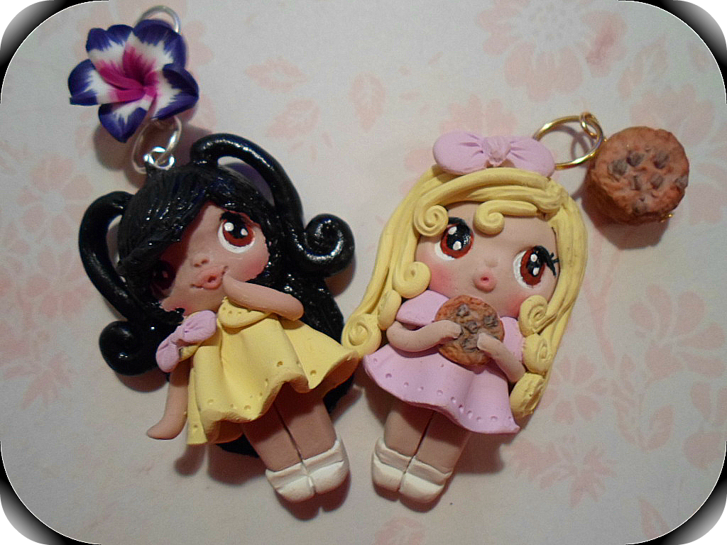 Polymer Clay Doll Charms