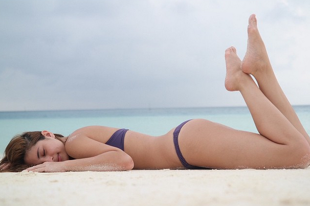 Coleen wows with bikini shoot in Maldives