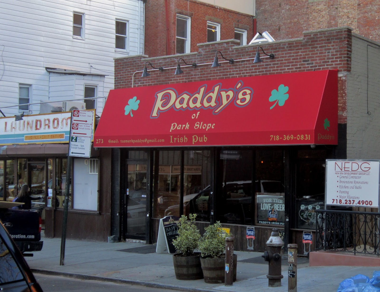 Blue apron park slope - Paddy S Of Park Slope Is Now Open At Fifth 13th The Irish Bar Replaces Barely There At All Brooklyn Voodoo Lounge Which Came In After Metal Bar Lucky 13