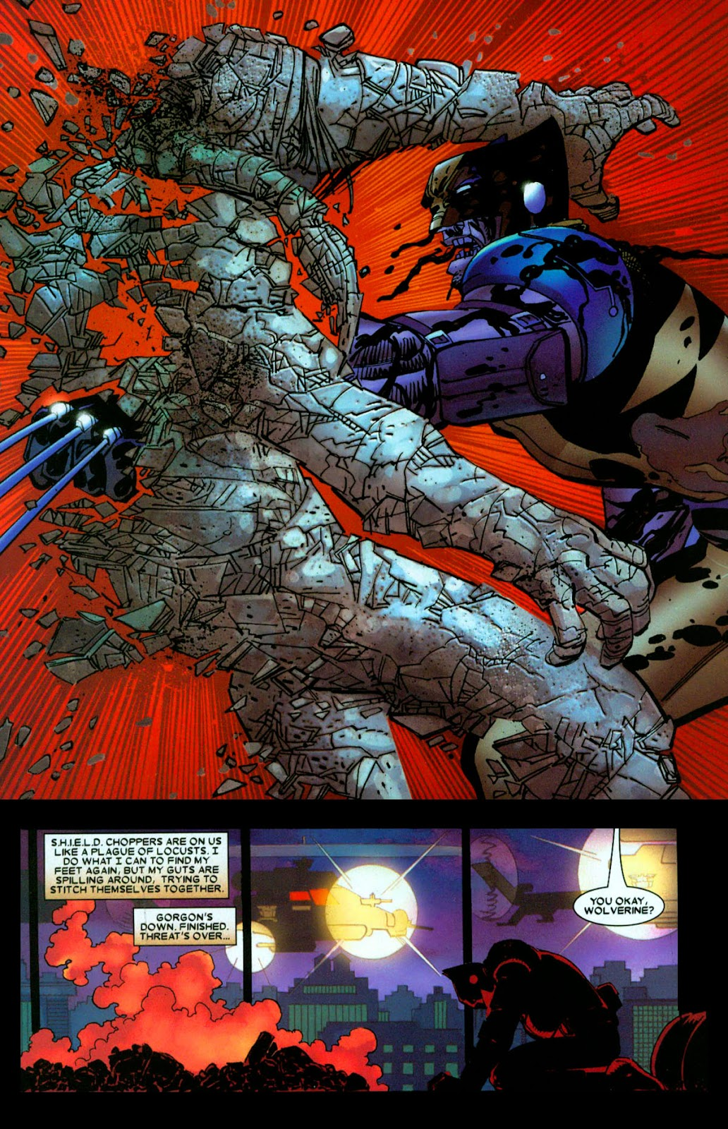 Read online Wolverine (2003) comic -  Issue #31 - 17