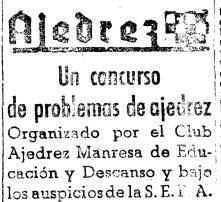 Recorte de Mundo Deportivo de febrero de 1942