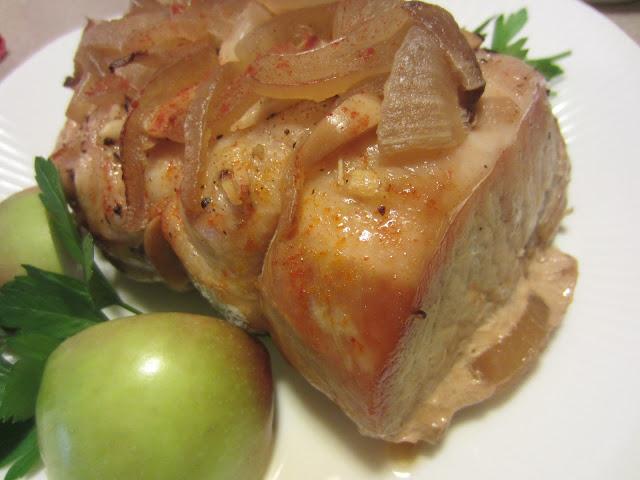 ... Kitchen Adventures: Crockpot Pot-Roasted Pork Loin w/ Onion Gravy
