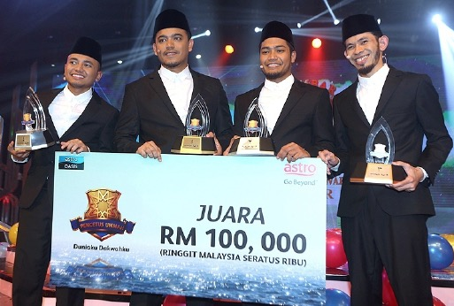 Juara Pencetus Ummah 2015 jatuh kepada PU Syed Mohd Bakri