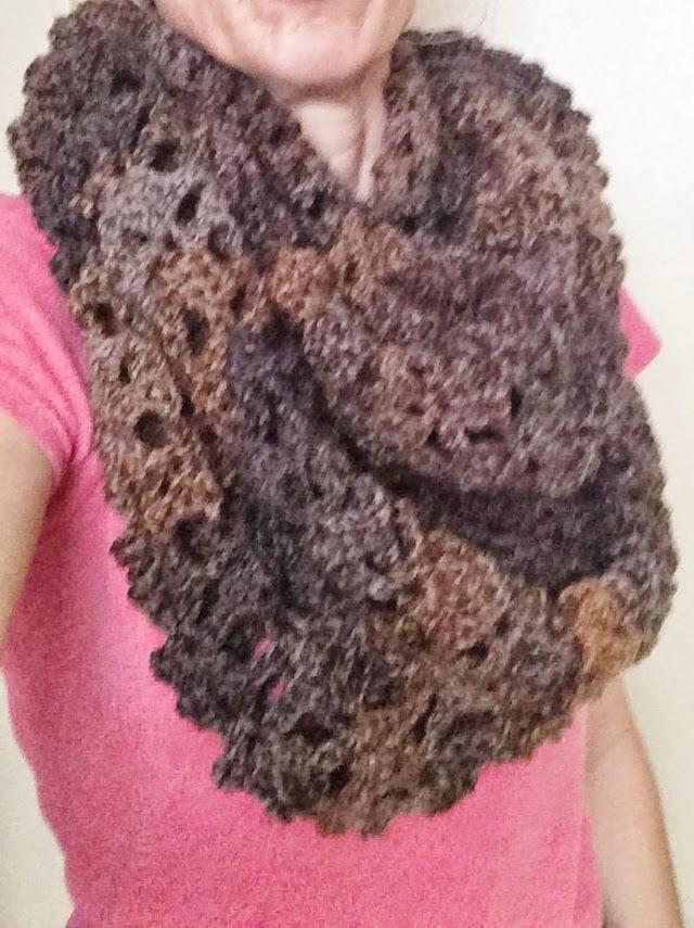 Shell Infinity Scarf Free Crochet Pattern Not My Nanas Crochet