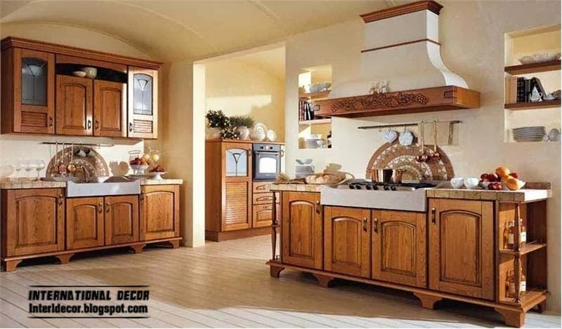 Country style kitchens 15 the best kitchens in country style for Country kitchen cabinets