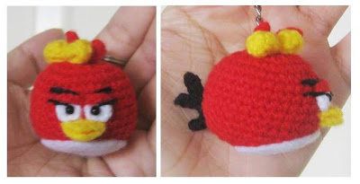 Angry Birds-Red Free Pattern – Abby's Amigurumi ♥