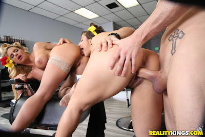 Phoenix Marie, Abella Danger – Sneaky Salon Sluts – Reality Kings
