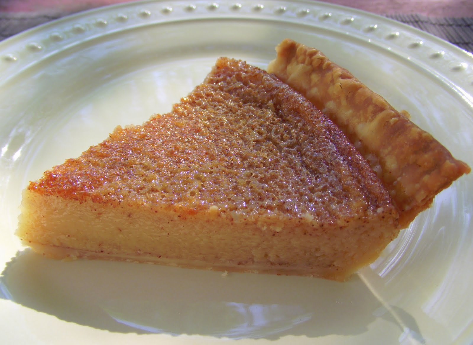 The Family Foodie » Caramel Custard Pie