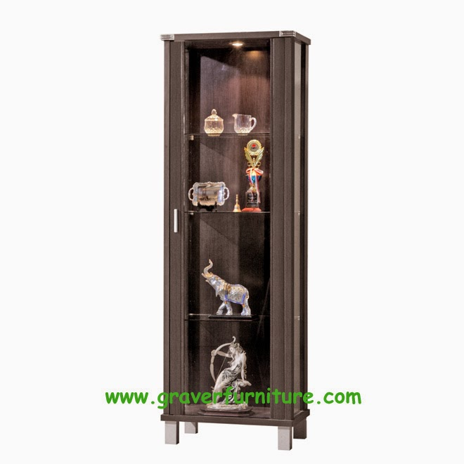 Lemari Display LHK 2880 Graver Furniture