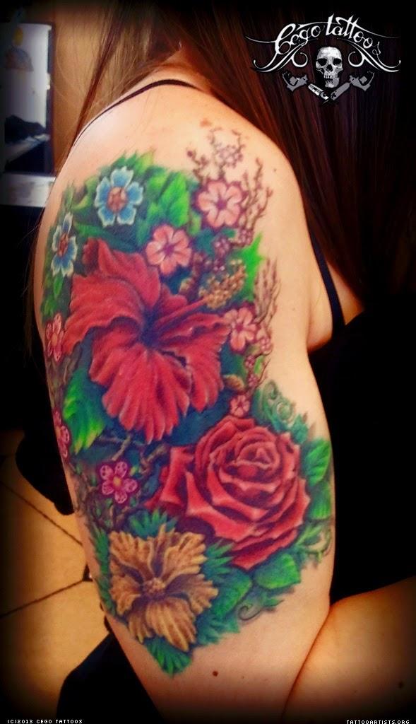 Jardim Tatuagem Feminina - Tattoo Garden
