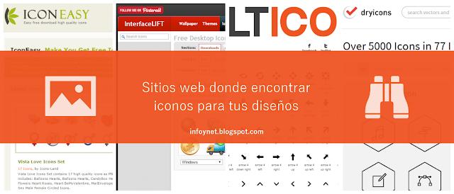 Sitios web donde encontrar iconos para tus diseños