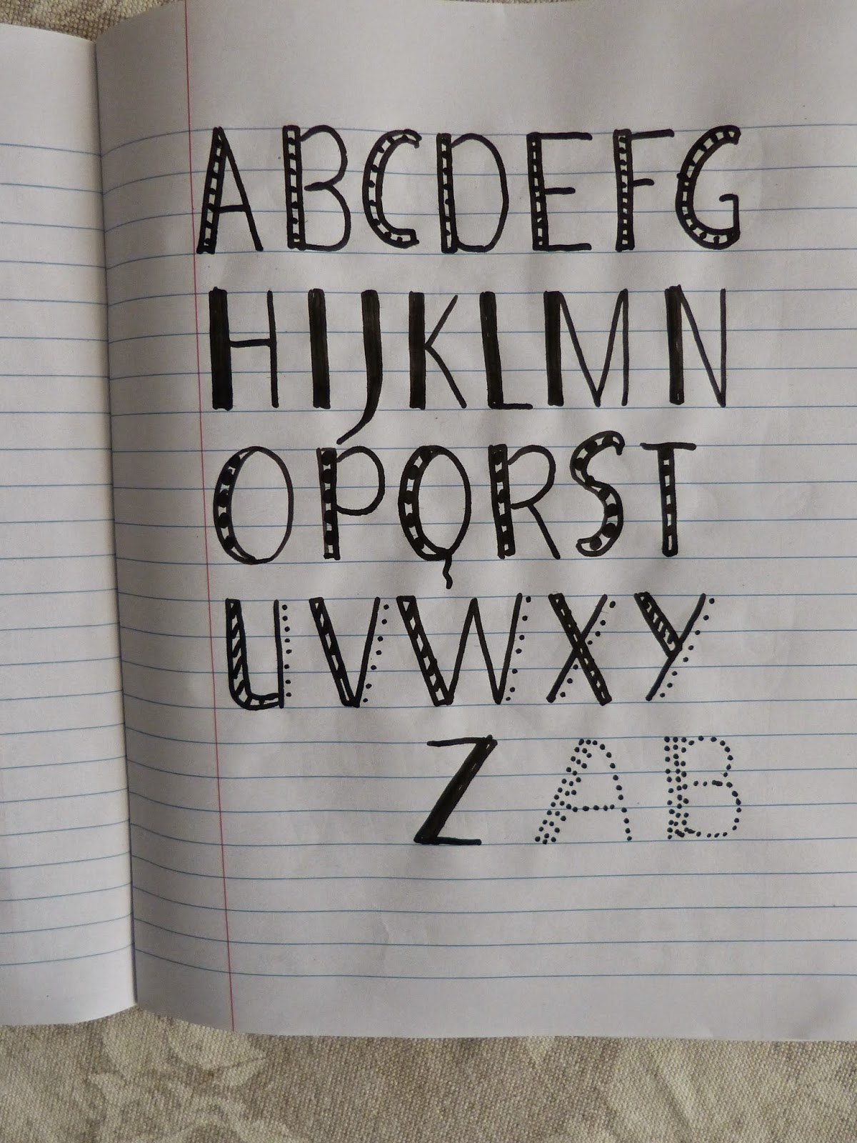 Rainy  Letters