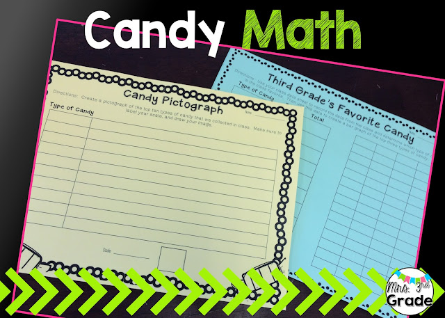 Candy math to help keep students engaged the week after Halloween