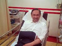 DS Anwar Ibrahim Kemalangan !!