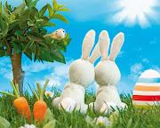 Dibujo de conejo y huevos de pascua para colorear conejo huevos