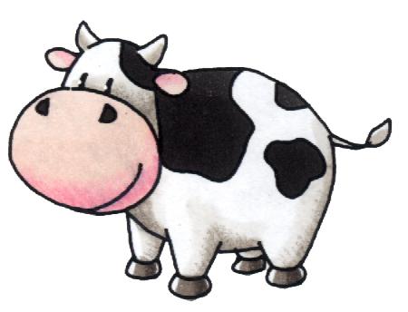 gambar kartun sapi