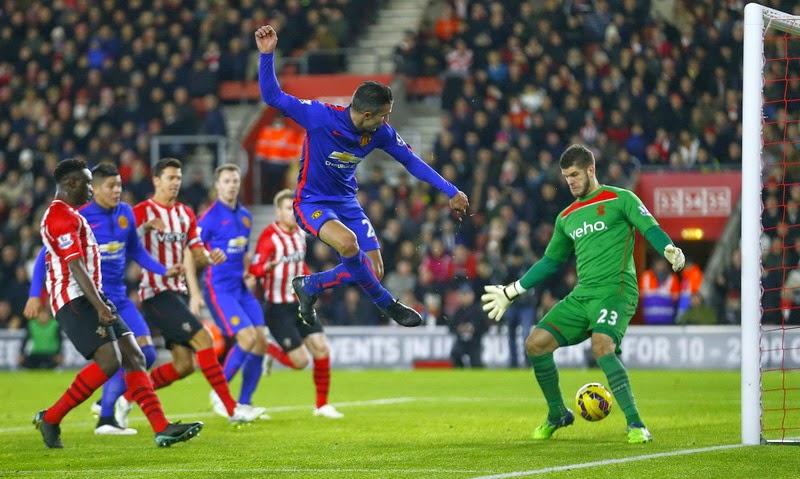 Manchester United Hajar Tuan Rumah Southampton 1-2