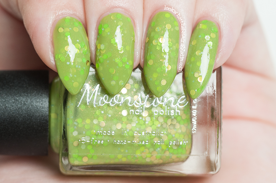 Moonstone Nail Polish Magic Treats collection Acid Pop Based from Harry Potter