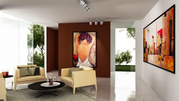 Il blog di architettura e design di studioad disporre i quadri alle pareti - Quadri da appendere in cucina ...