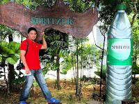 Air Mineral SPRITZER Dari Kubur Cina..?
