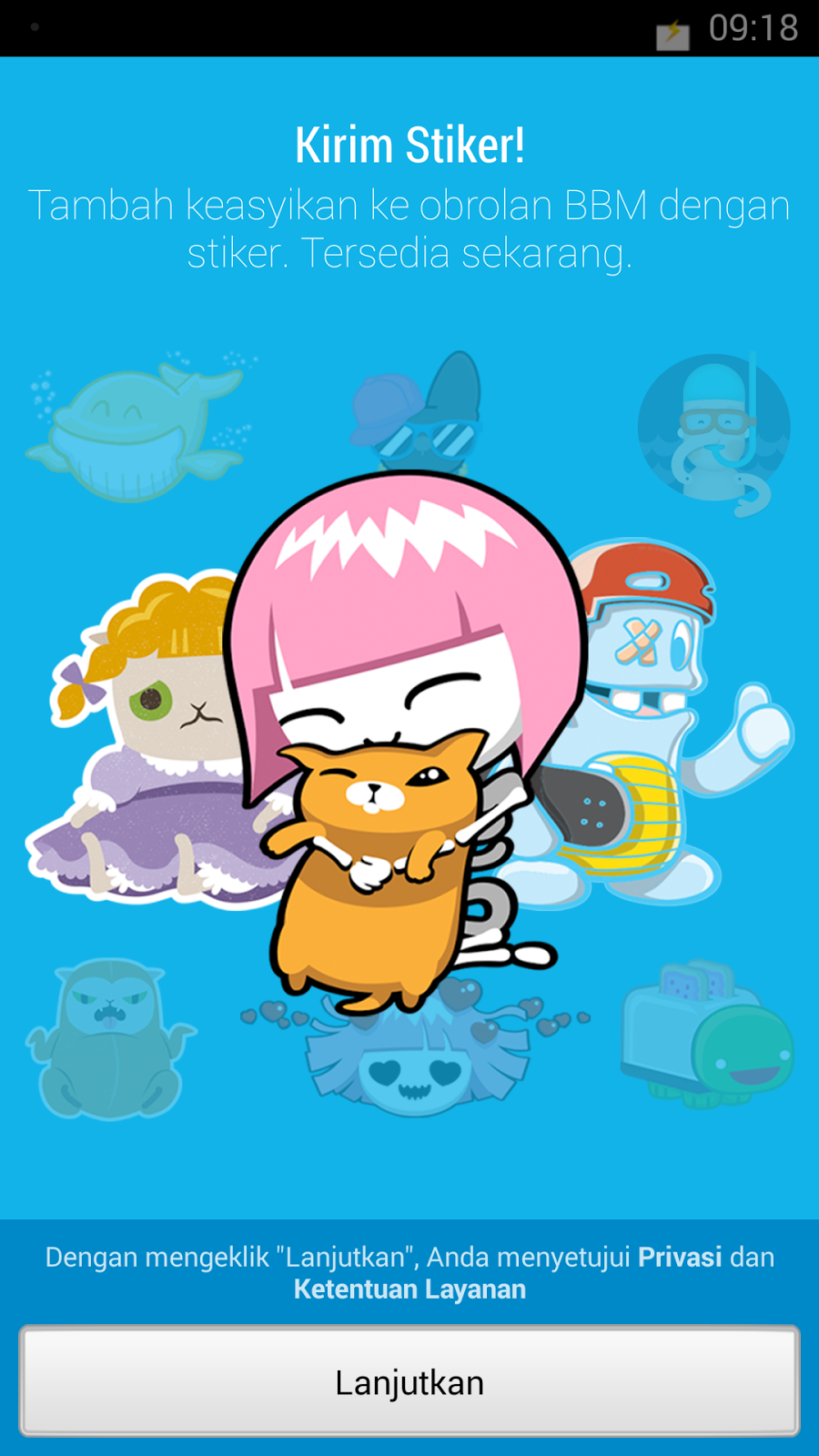 download sticker android gratis