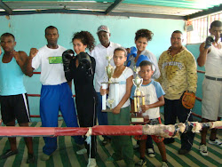 Seleccion de Boxeo Mixta del Municipio Independencia