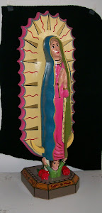 "Our Lady of Guadalupe - 24"" tall"