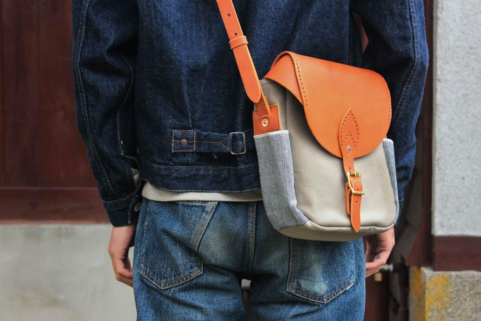S.F.K. Crossbody bag