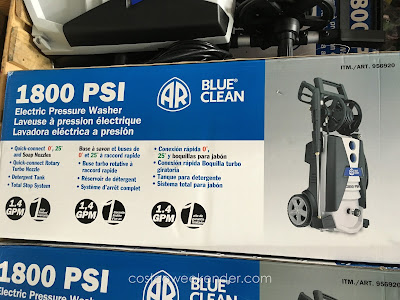 AR North America Blue Clean Pressure Washer – For the detailer in your Christmas shopping list