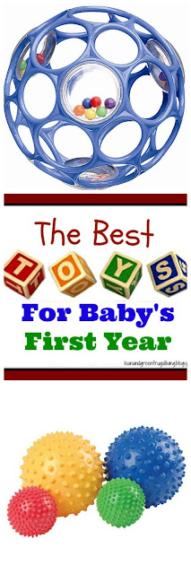 best toys for baby's first year one year olds