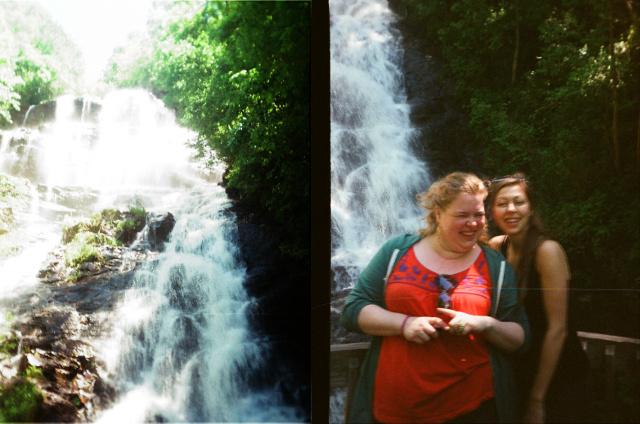 Amicalola falls view