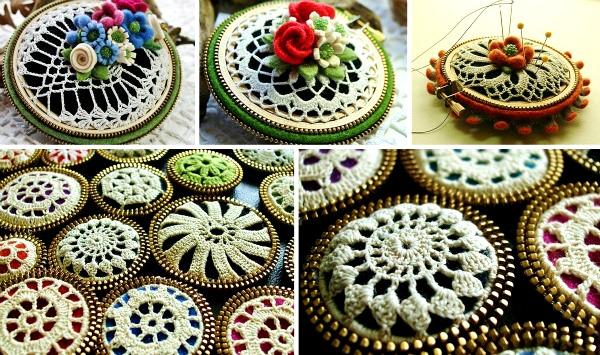 Hay muchas tiendas online donde comprar plantillas doily para decorar  cualquier objeto. Martha Stewart, de la que ya os hablé en la entrada  crocheting