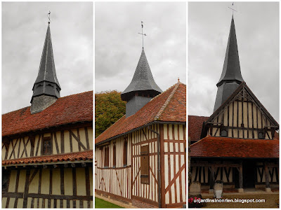Design Eglises champenoises à pans de bois