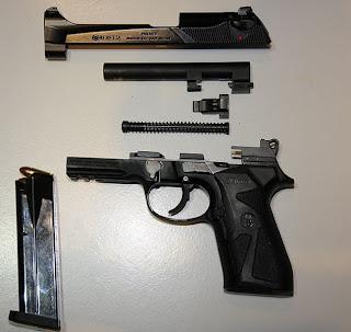 Beretta 90-Two Field stripped
