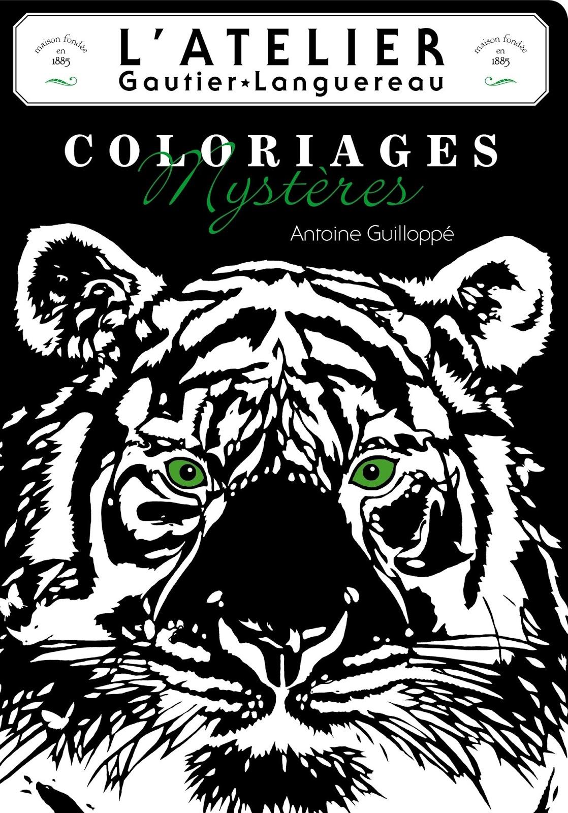 Am stram gram les plus beaux albums de coloriages - Dessin fond noir ...